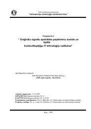 1.etapa atskaite - Elektronikas un datorzinātņu institūts