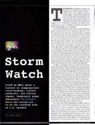 Storm Watch - Jesse Katz