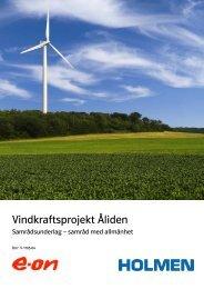 Vindkraftsprojekt Åliden - E-on