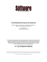 Threat Modeling: Diving into the Deep End - Build Security In