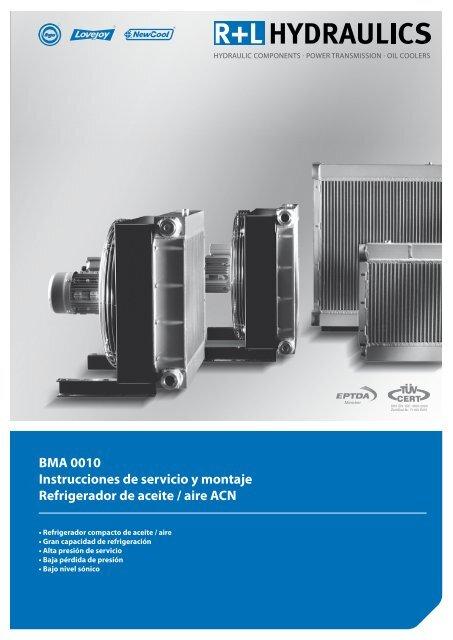 BMA 0010 Instrucciones de servicio y montaje Refrigerador de ...
