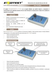 The EXXOTEST® DT-M004 model is a teaching support that allows ...