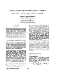 Adaptive Contour Estimation With Genetic Algorithms - Instituto de ...
