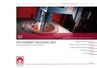 FDU Entgasungsgeräte - Foseco