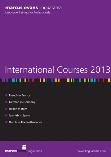 Courses Abroad - Linguarama