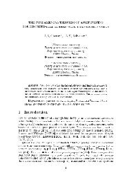THE FUNDAMENTAL THEOREM OF ASSET PRICING FOR ...