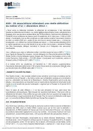 Aef.info, 20 septembre 2012, FGPEP, AVS
