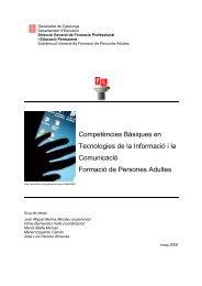 Competències Bàsiques en Tecnologies de la Informació i la ... - Xtec