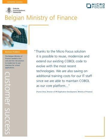 customer success - Micro Focus