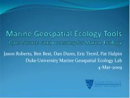 Jason Roberts and Benjamin Best - GeoTools - NOAA