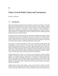 China's Growth Model: Choices and Consequences - Eswar Prasad
