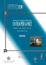 catalogo 2010 - Festival UN FILM PER LA PACE