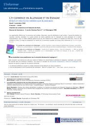 S'informer - ILE-DE-FRANCE INTERNATIONAL