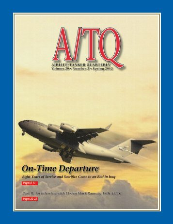 An Interview with Lt Gen Mark Ramsay, 18th AF/CC - Airlift/Tanker ...