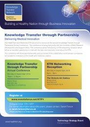 Knowledge Transfer through Partnership - KT-Equal