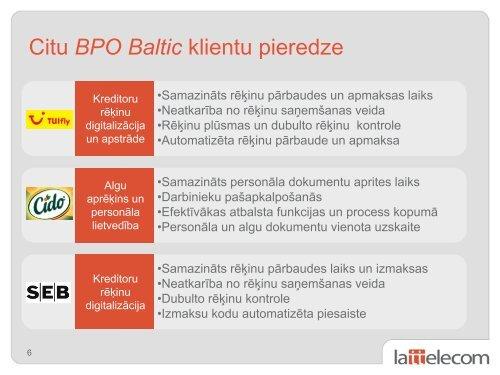 Grāmatvedības attaisnojuma dokumentu elektroniska aprite - LIKTA