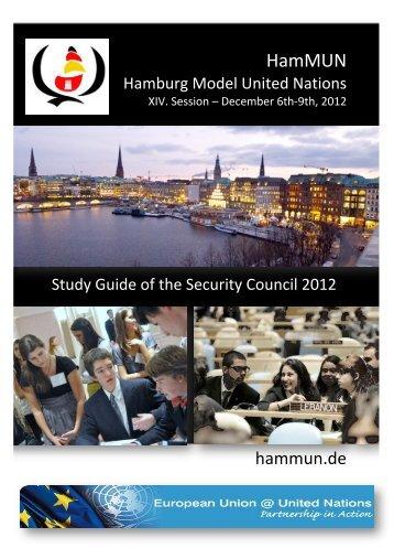 HamMUN 2012 Study Guide_SC