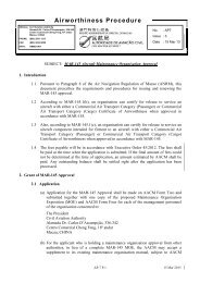 MAR-145 Aircraft Maintenance Organization Approval