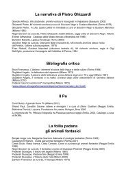 Bibliografia generale - Comune di Modena