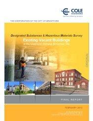 Designated Substances and Hazardous Materials ... - City of Brantford