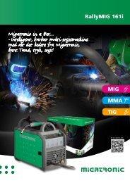 RallyMIG 161i TIG MIG MMA - Migatronic
