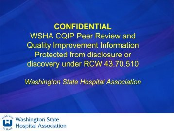 Carol Wagner - Overview of Patient Safety - Washington State ...