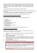 manuale tecnico per la registrazione delle informazioni relative all ... - Page 5
