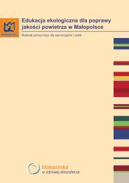 Edukacja ekologiczna dla poprawy jakości powietrza w Małopolsce