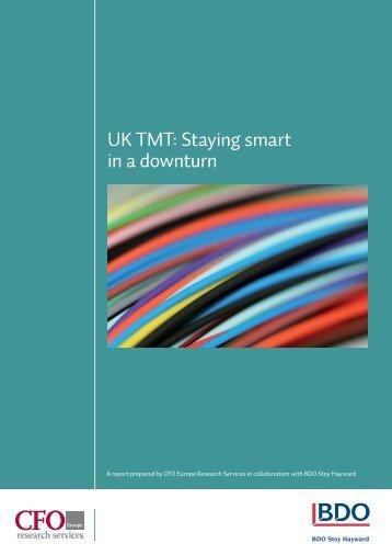 UK TMT: Staying smart in a downturn - UK.COM