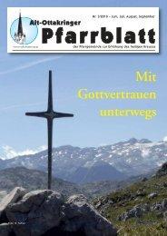 Mit Gottvertrauen unterwegs - Pfarre Alt-Ottakring