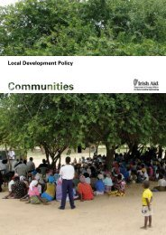 Irish Aid Local Development Policy 2008