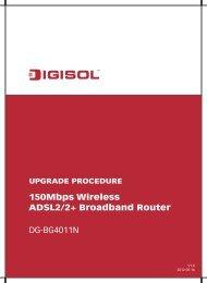 Firmware Upgrade Procedure - Digisol.com