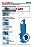 Safety valves according to API standard type 526 - Leser.ru - Page 2