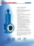 Safety valves according to API standard type 526 - Leser.ru - Page 4