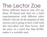 The Lector Zoe - Lector-audio.com