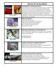 Künstler für die KunstMeile - Das Bürgerhaus in Barmbek