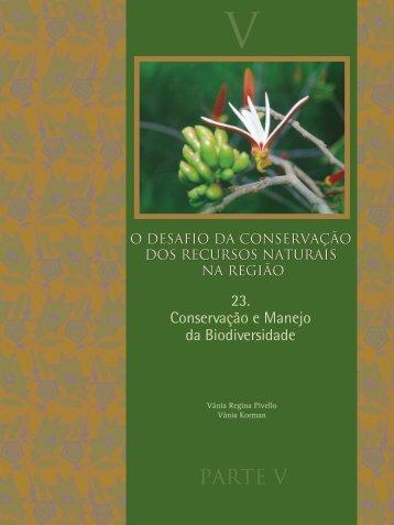 Conservação e Manejo da Biodiversidade. In - Departamento de ...