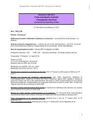 Réalisations 2007-2012 - ReprésentationS - Free