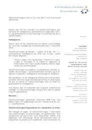 Statsforvaltningens brev af 12. maj 2011 til et kommunalt fællesskab ...