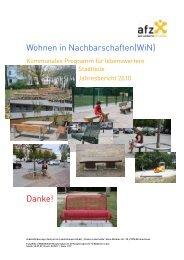 Wohnen in Nachbarschaften(WiN) - AFZ