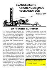 Word Pro - 2009-2Text.lwp - Kirchengemeinde Heumaden-Süd