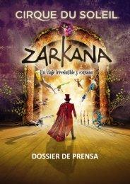descripción del espectáculo - Cirque du Soleil