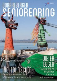 Ausgabe Mai 2013 - Vorarlberger Seniorenring