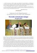 Simposi: 13° Corso Comunicati Stampa - Centro Internazionale di ... - Page 2