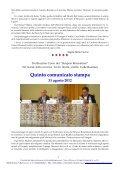 Simposi: 13° Corso Comunicati Stampa - Centro Internazionale di ... - Page 5