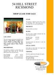shop lease for sale - Focus