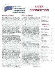 VOCES DE LOS PACIENTES - The Center for Liver Disease and ...