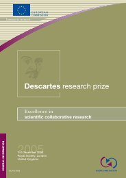 Descartes research prize - CERTH, The Centre for Research and ...