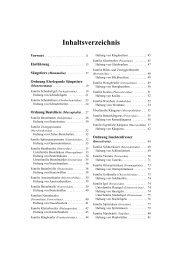 Inhaltsverzeichnis - Verlag Harri Deutsch