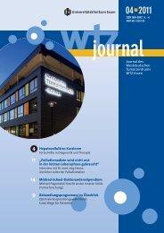 Ausgabe 4-2011 - Westdeutsches Tumorzentrum Essen